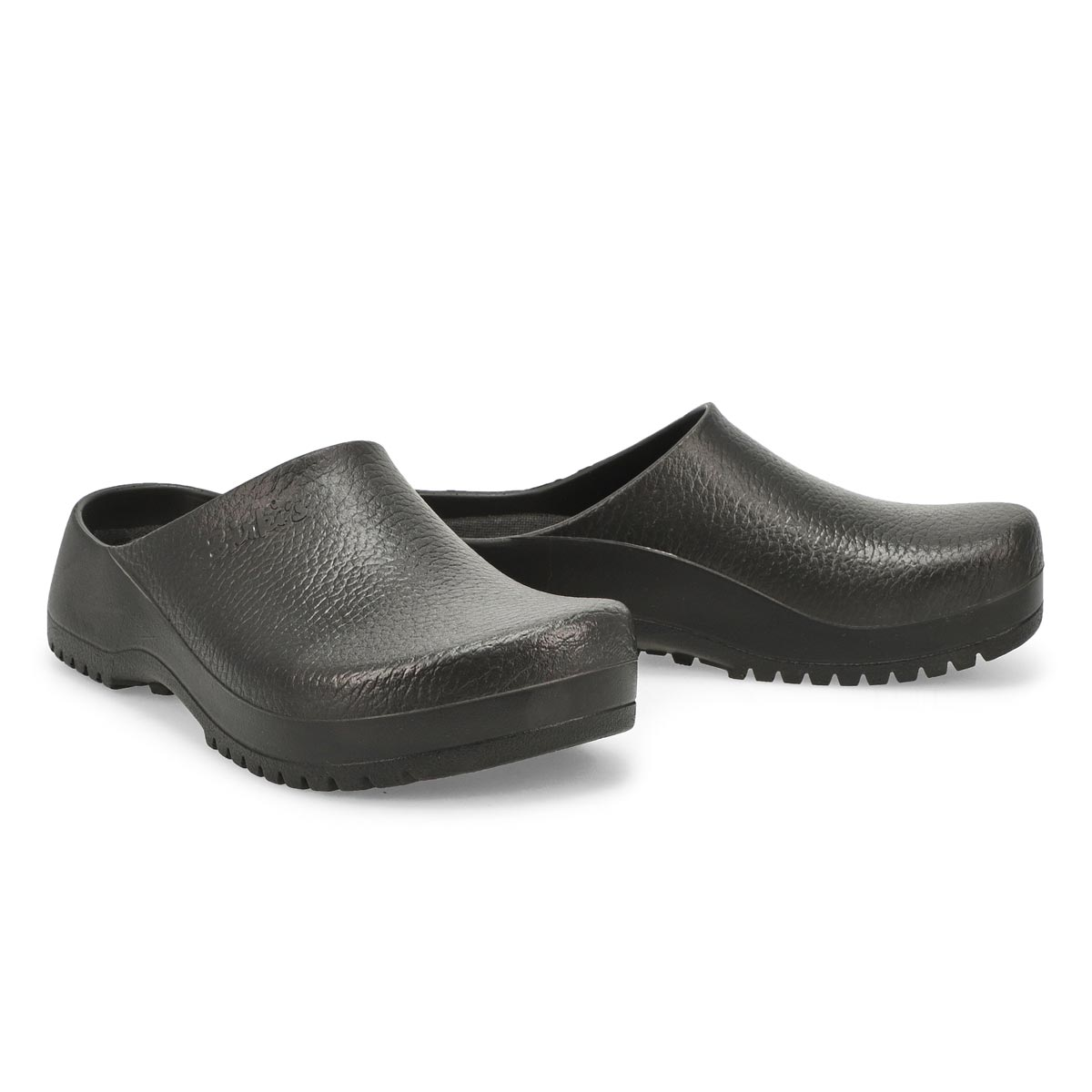 Lds Super Birki black clog