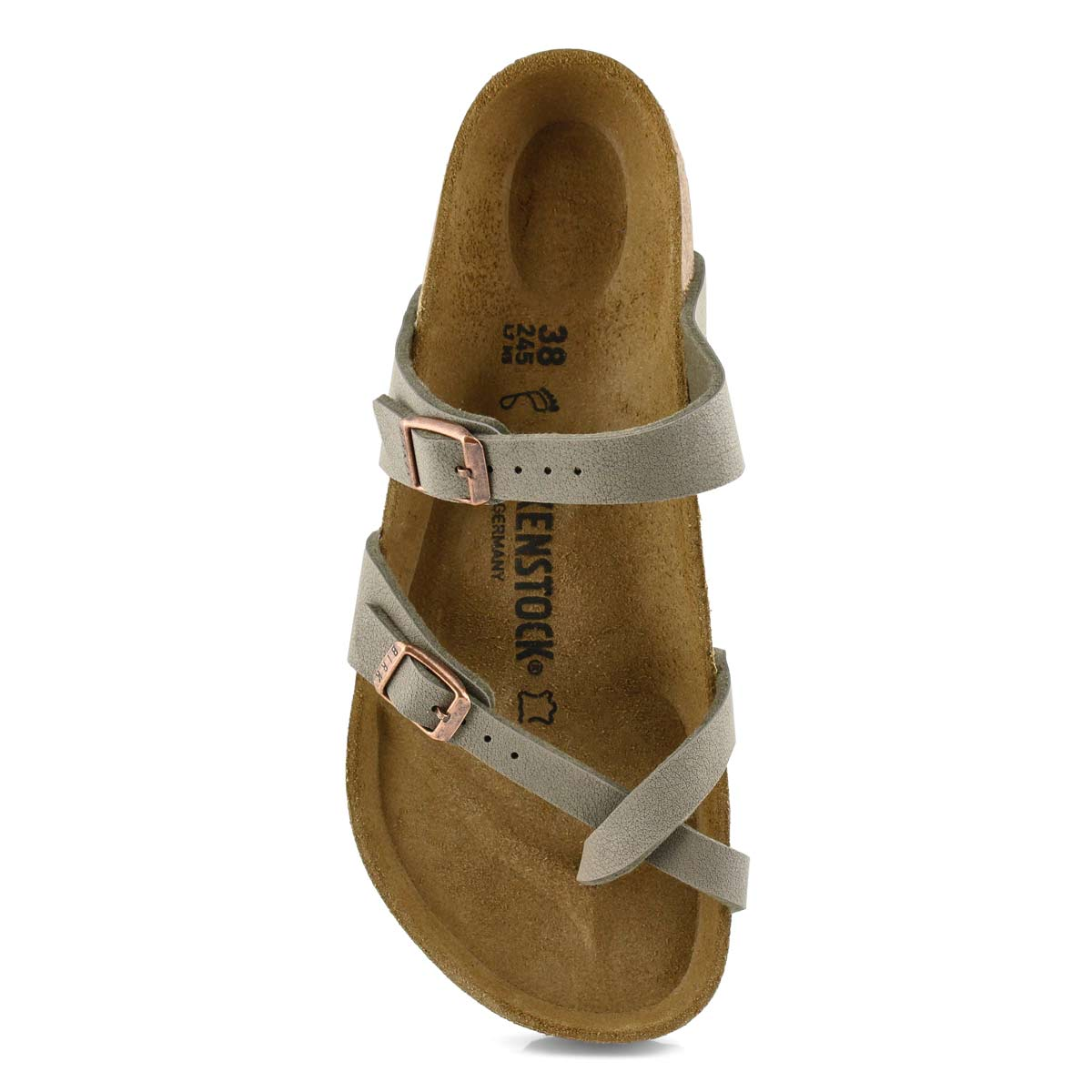 Lds Mayari BF stone toe sleeve sndl