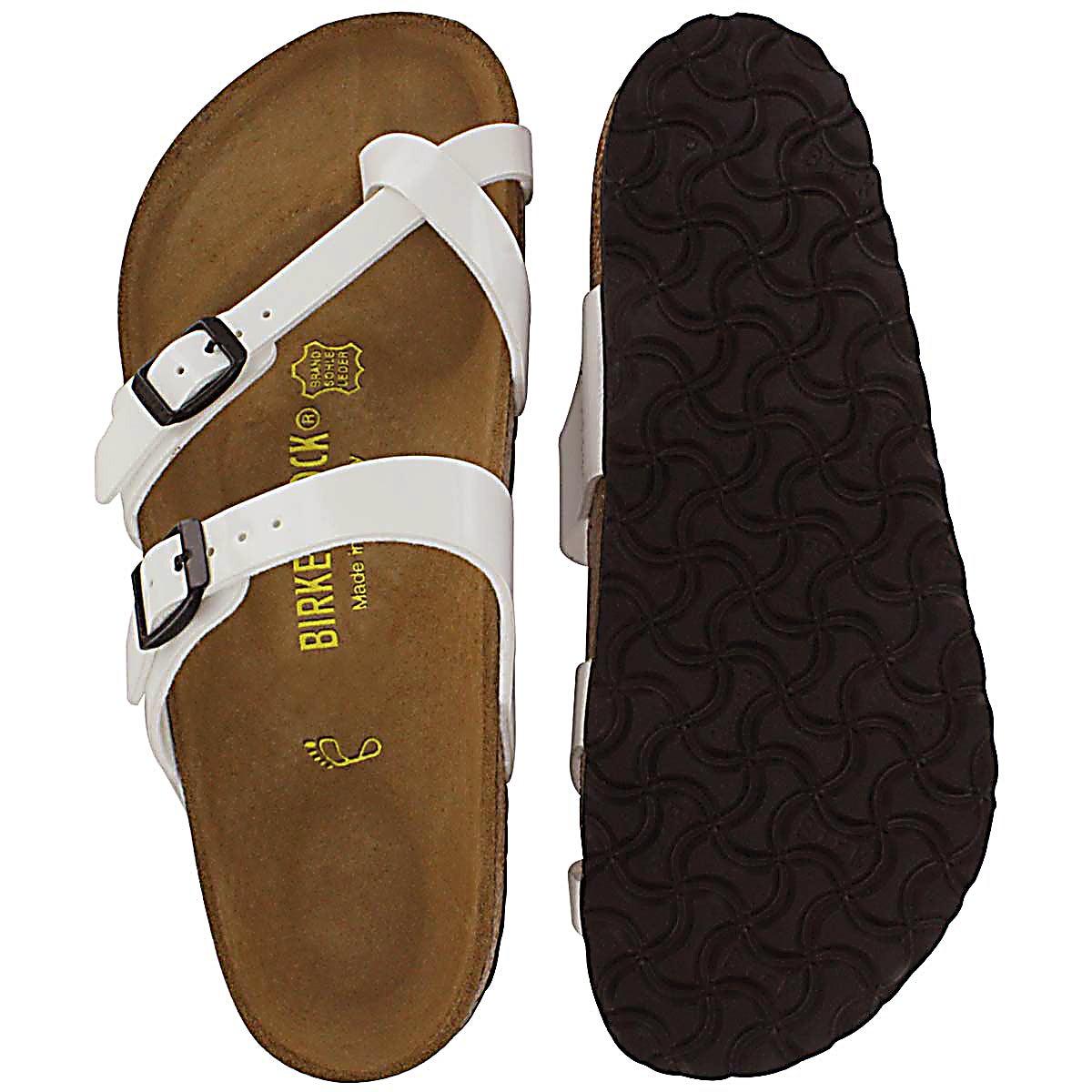 Lds Mayari  white toe sleeve thong