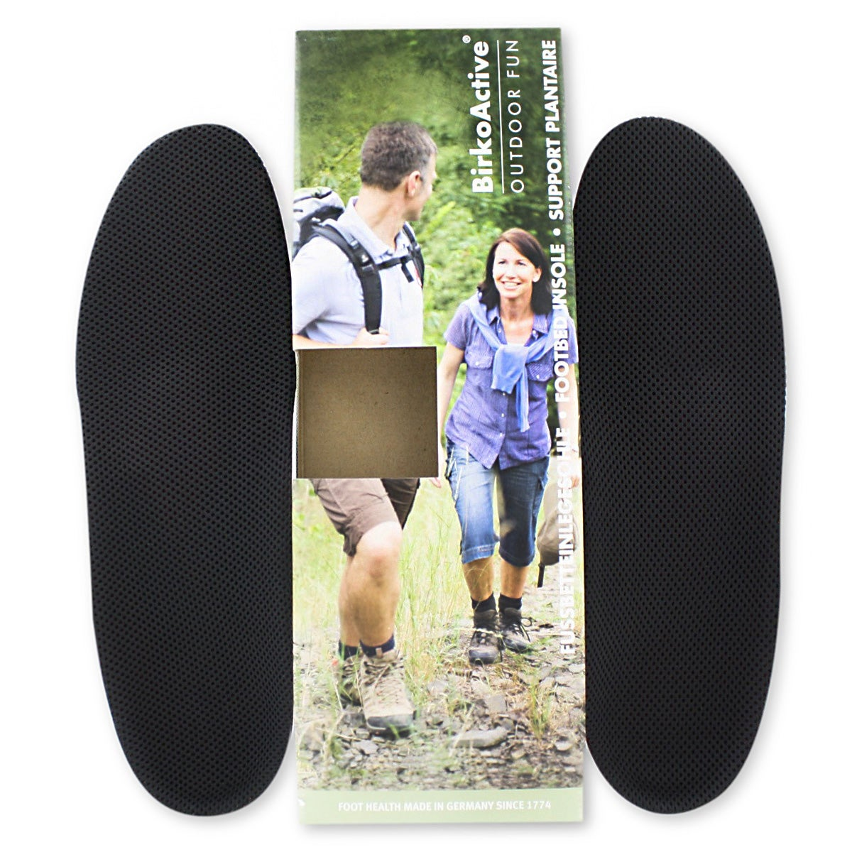 Women's OUTDOOR FUN breathable footbed insoles