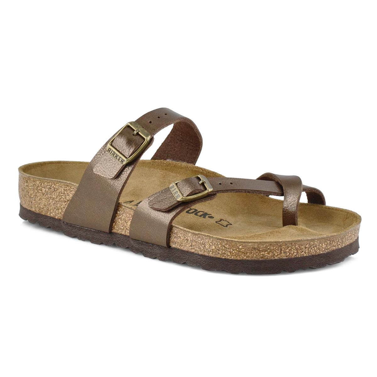 Women's MAYARI BF toffee thong sandals