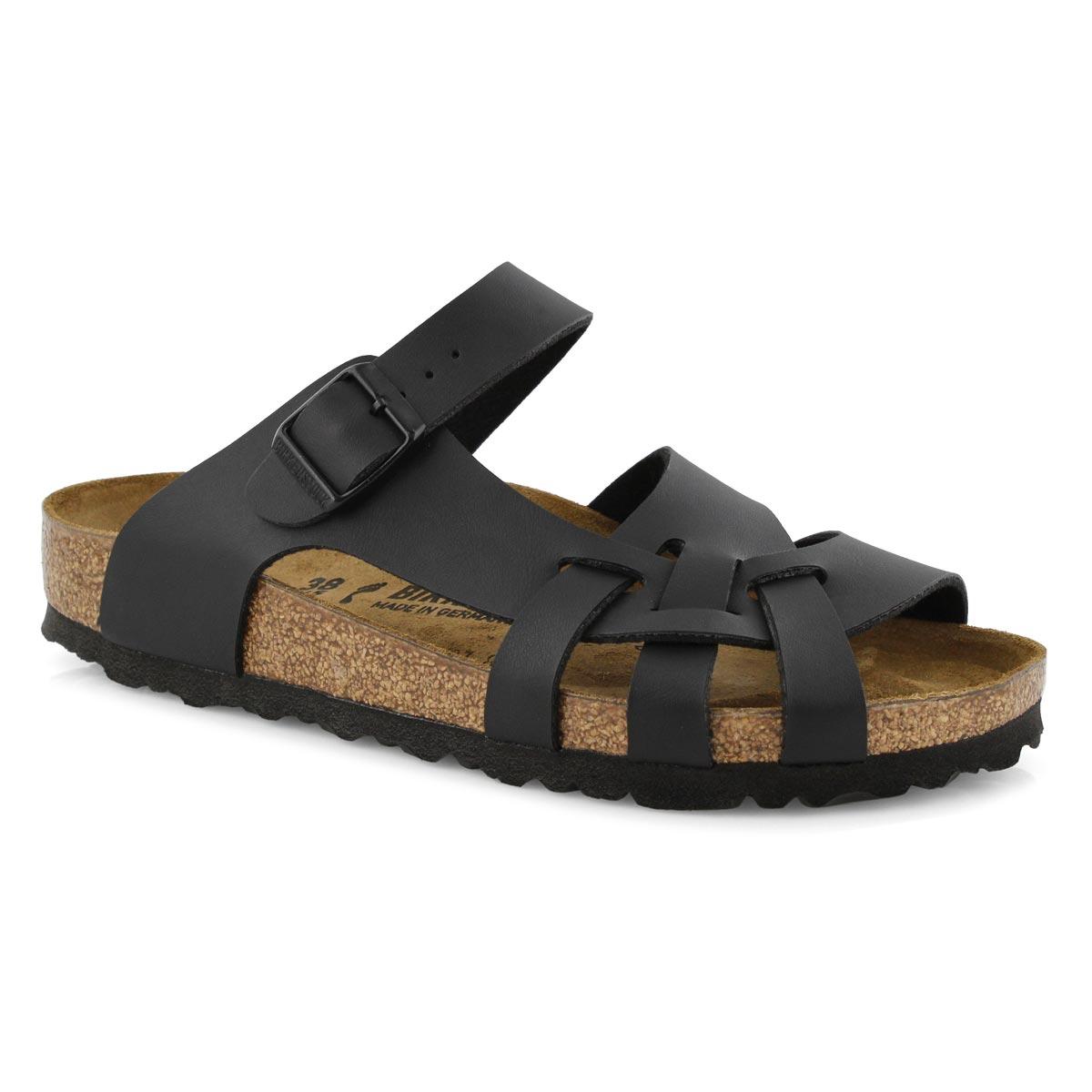 New Savings on Birkenstock Pisa Women's Black Sandal Euro 38