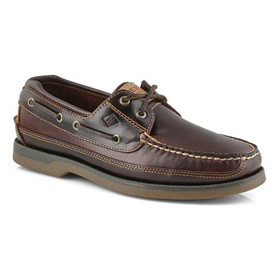Mns Mako 2-eye amaretto boat shoe