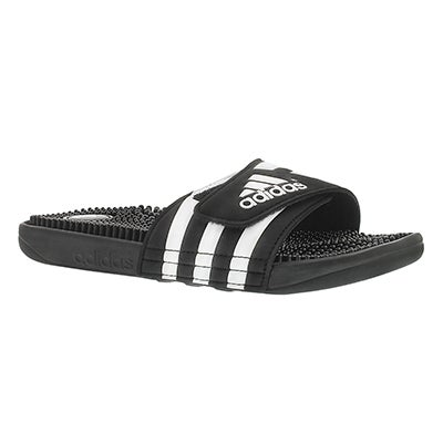 Adidas Men's ADISSAGE black/white slide sandals