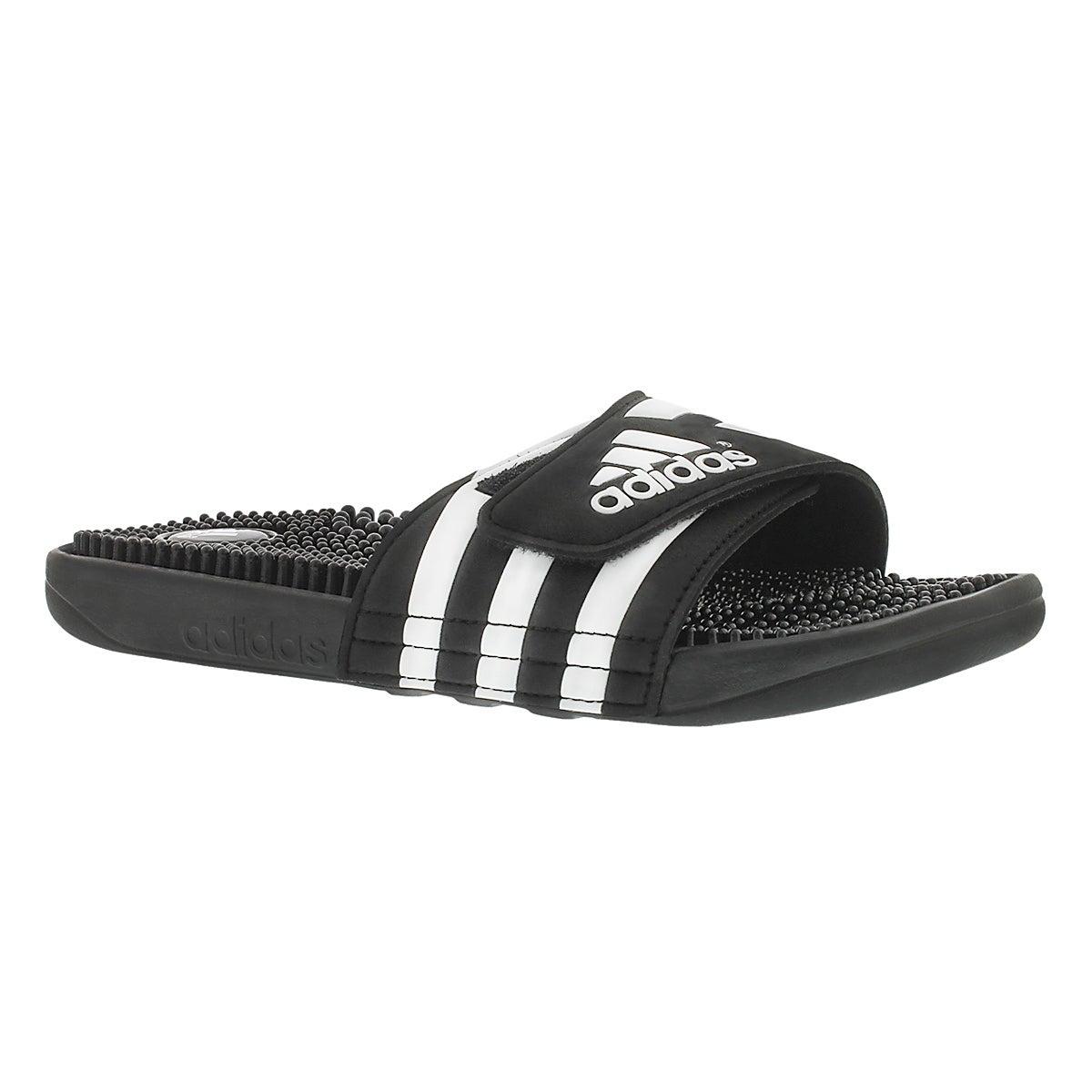 Sandales Adissage, noir/blanc, hom