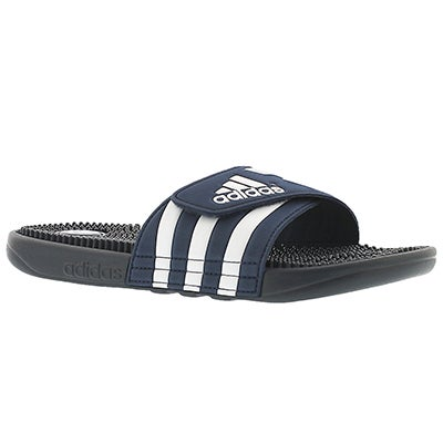 Adidas Men's ADISSAGE navy/white slide sandals