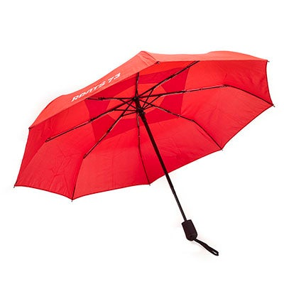 Roots ROOTS73 cranberry telescopic vented umbrella