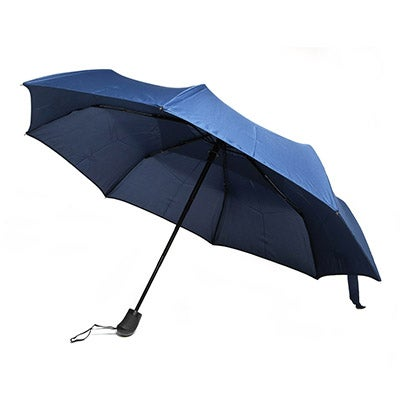 Roots ROOTS73 navy telescopic vented umbrella