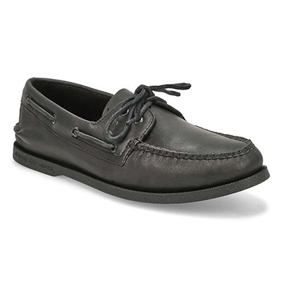 Sperry Top-Sider Men's A/O 2-eye black boat shoes