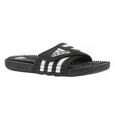 Adidas Women's ADISSAGE black/white slide sandals