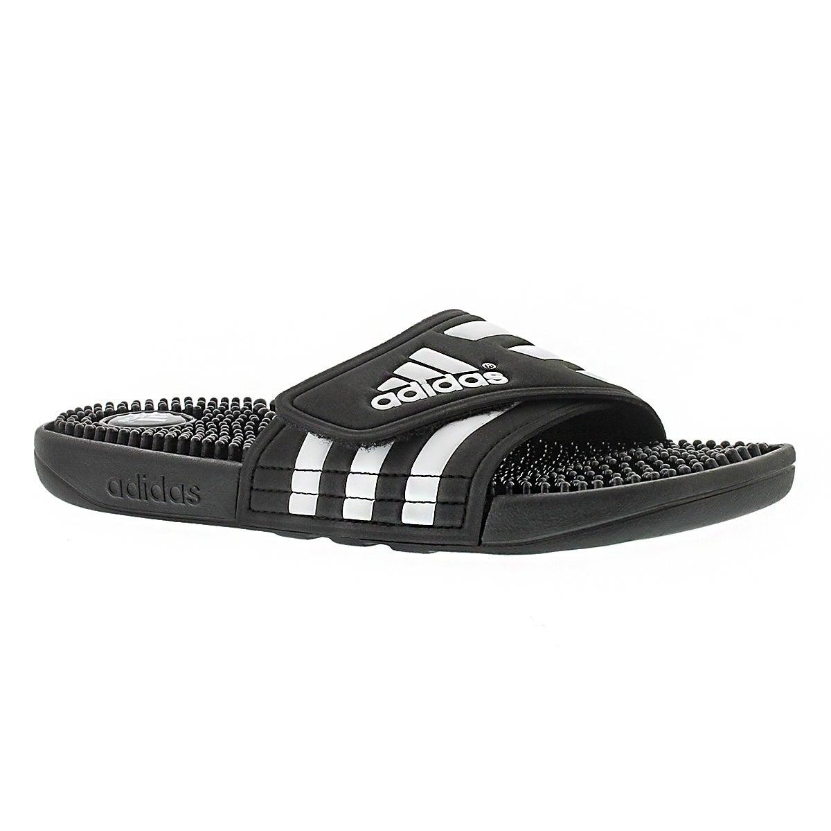 Lds Adissage black/white slide sandal