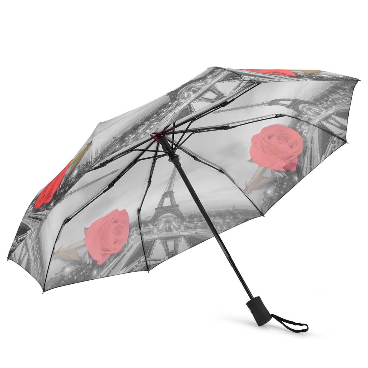 BelAmi City Print Paris umbrellas