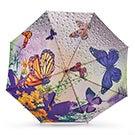 BelAmi purple butterfly stick umbrella