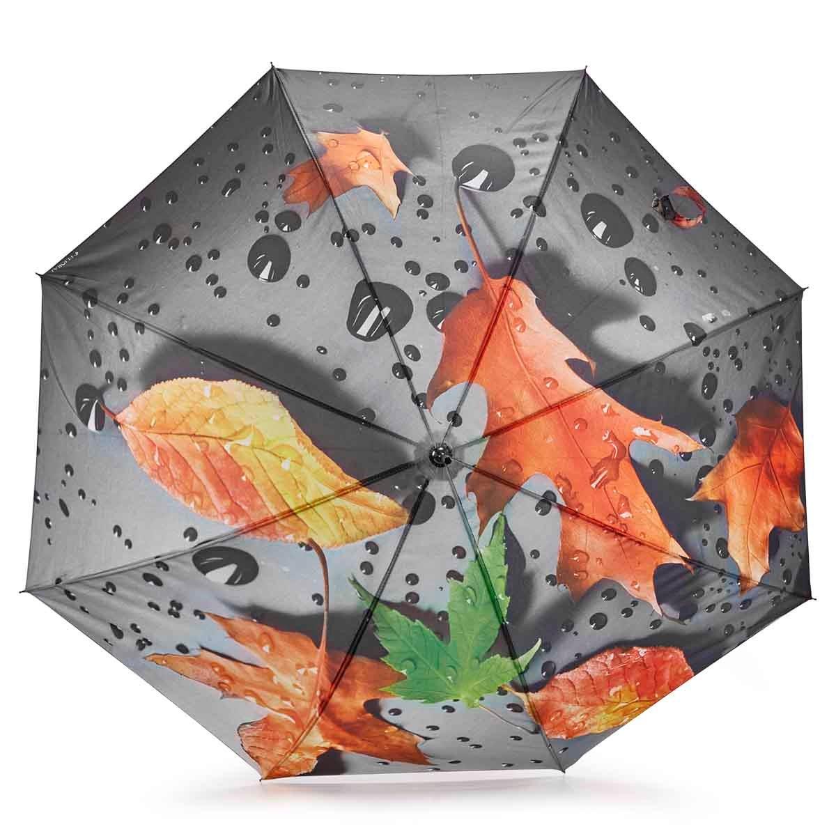 BelAmi orange leaf stick umbrella