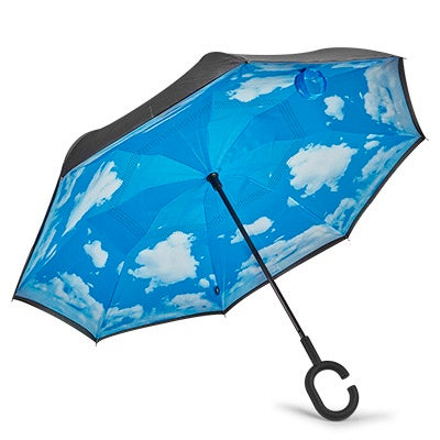BelAmi blue sky reversible umbrella