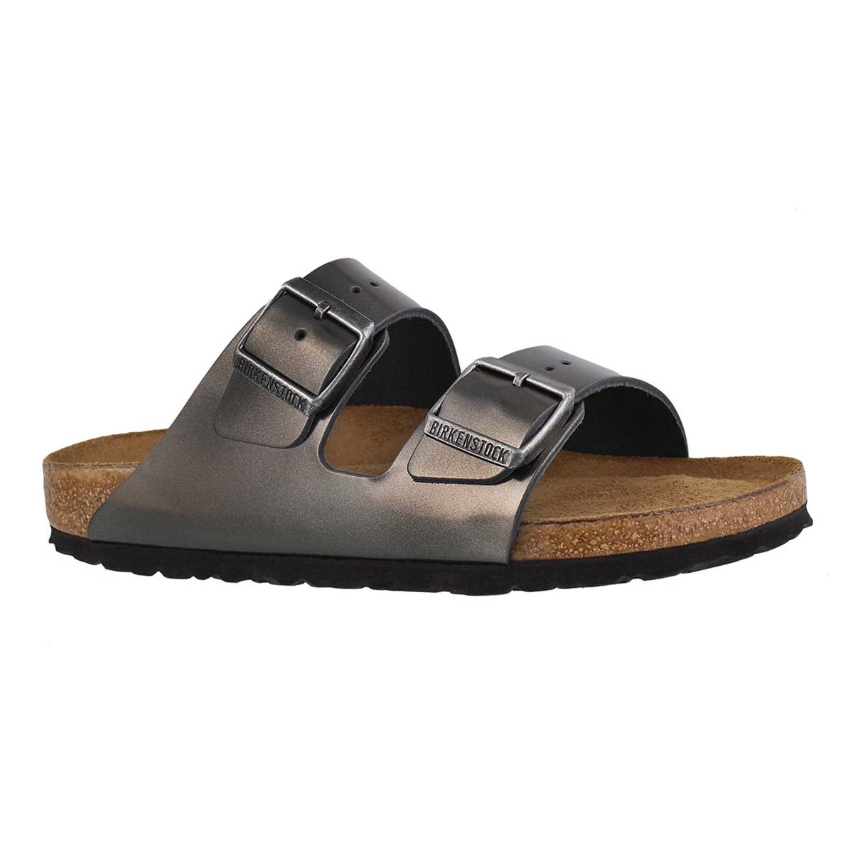 Women's ARIZONA LTR mtlc anthrcite sandals -Narrow