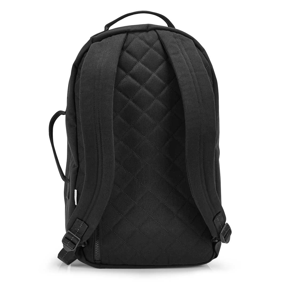 Unisex Essentials black canvas backpack