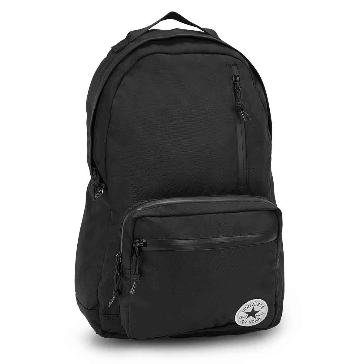 Unisex POLY GO black backpack