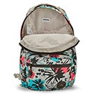 Lds The GO painted floral backpack