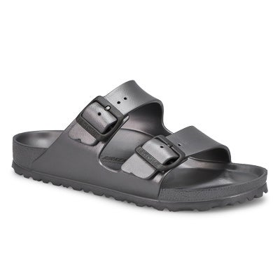 Lds Arizona metallic anthr EVA sandal