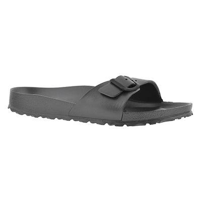 Lds Madrid metallic anth EVAslide sandal