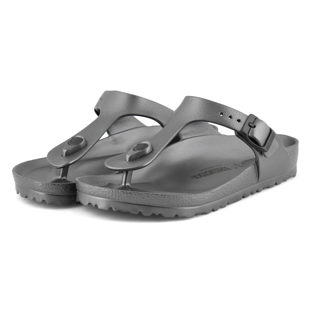 Sandale tong Gizeh EVA, anthrac mét, fem