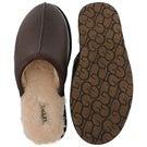 Mns Scuff stout sheepskin slipper