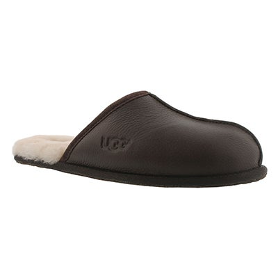 UGG Australia Men's SCUFF stout sheepskin slippers