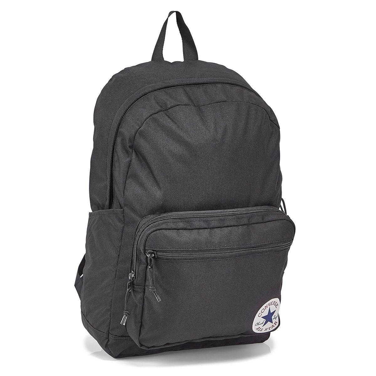 Converse Go 2 black backpack