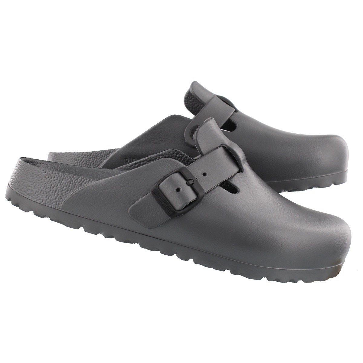 Lds Boston metallic anth EVA casual clog