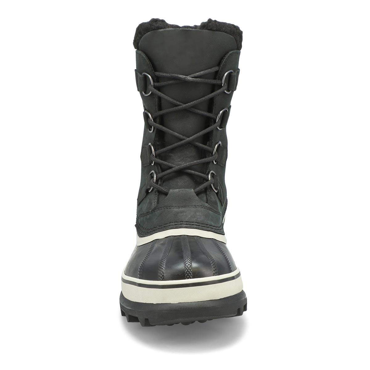Mns Caribou blk/drk stone wtpf wntr boot