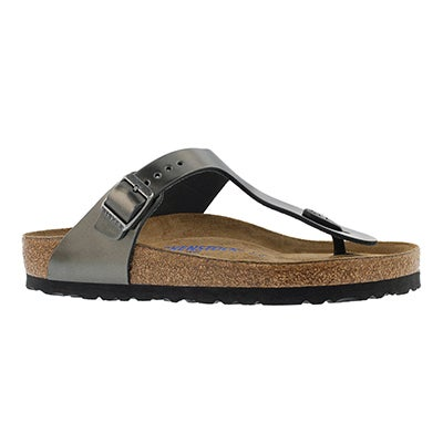 Lds Gizeh metal anthr thong sandal SF
