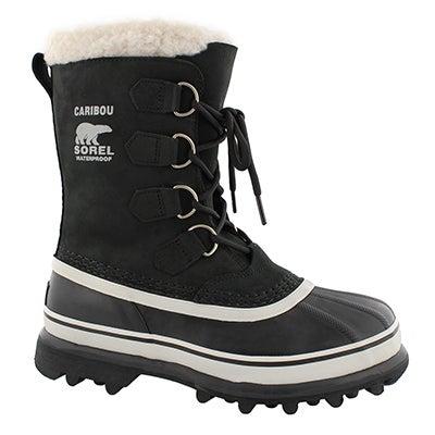Lds Caribou blk/stn wtpf winter boot