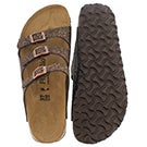 Lds Florida grace brown sandal - Narrow