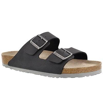 Mns Arizona black BF 2 strap sandal SF