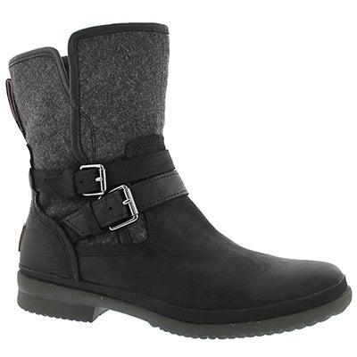 UGG Australia Women's SIMMENS black waterproof boots