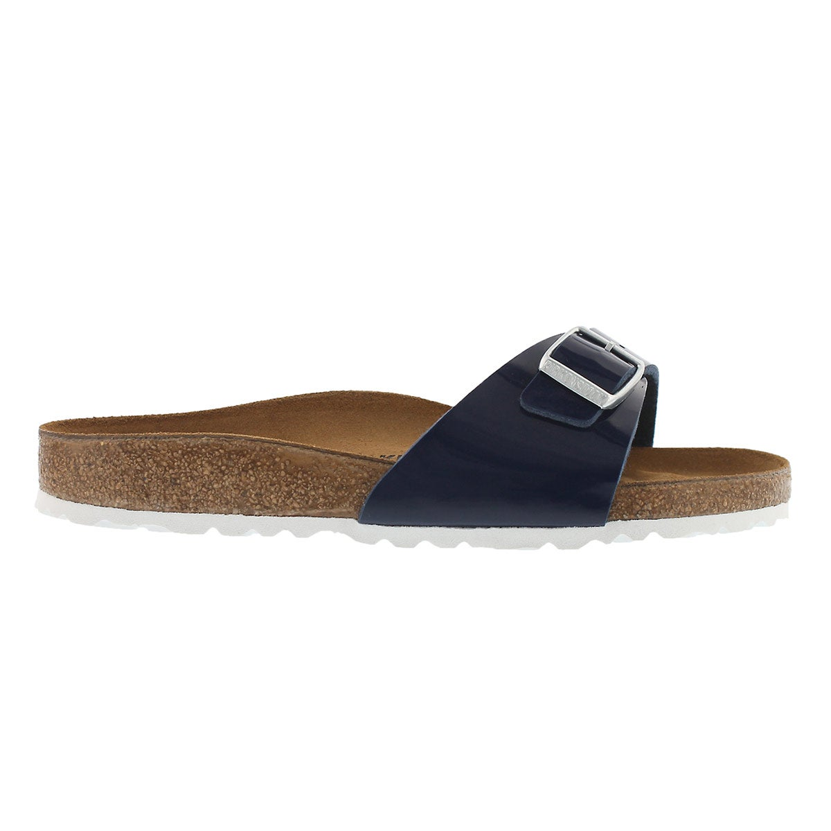 Lds Madrid blue dress BF 1 strap sandal