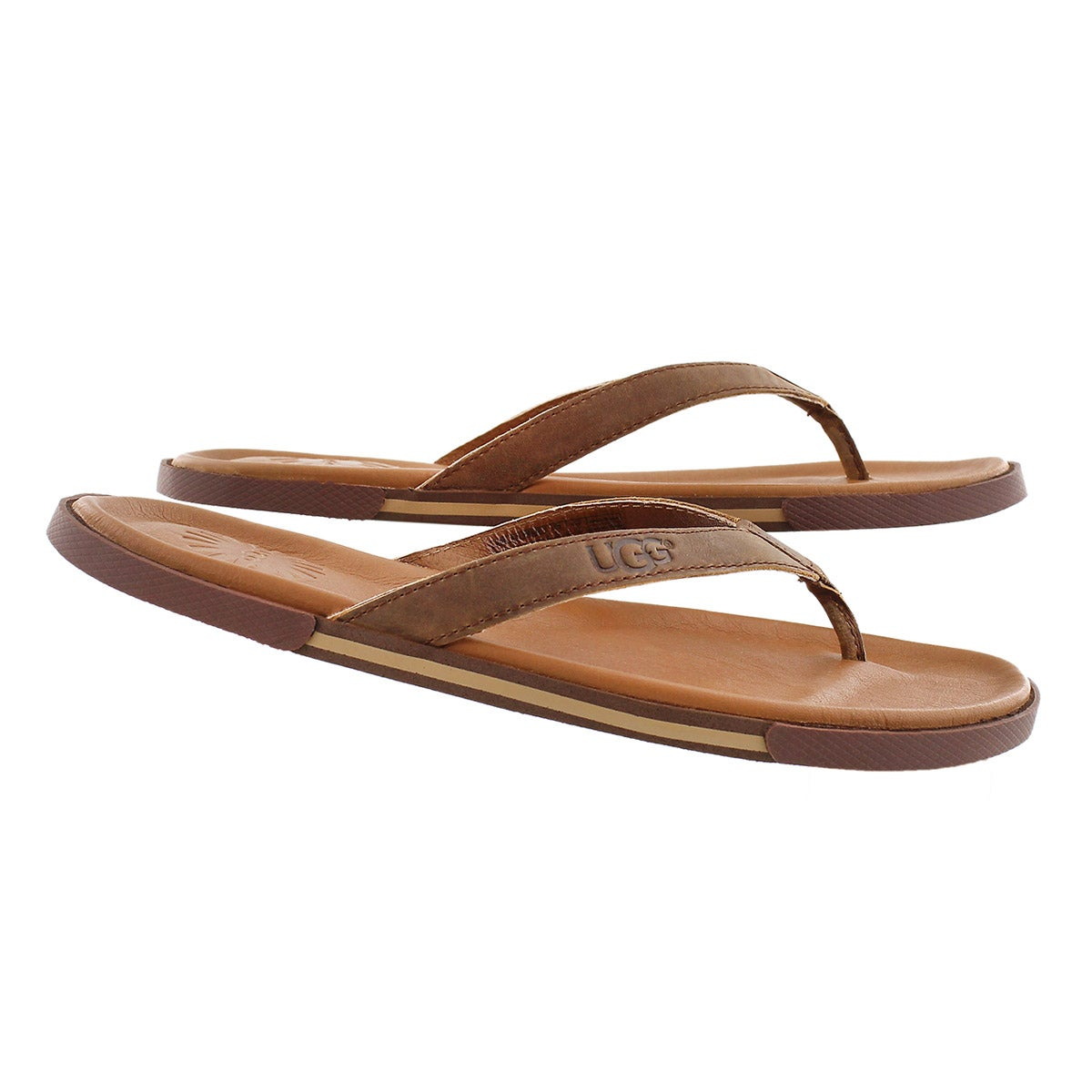 Mns Bennison II luggage leather sandal