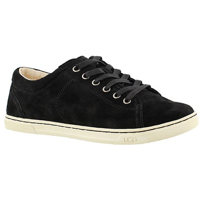 Lds Tomi black lace up sneaker
