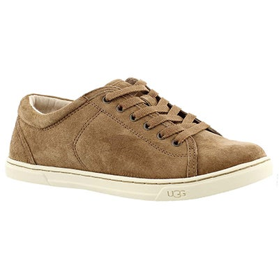 UGG Australia Women's TOMI chestnut lace up sneakers