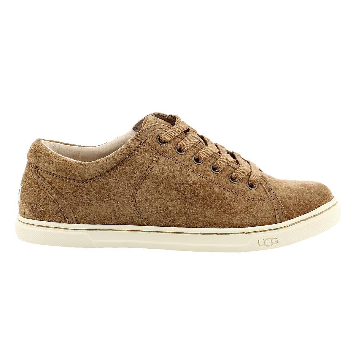 Lds Tomi chestnut lace up sneaker