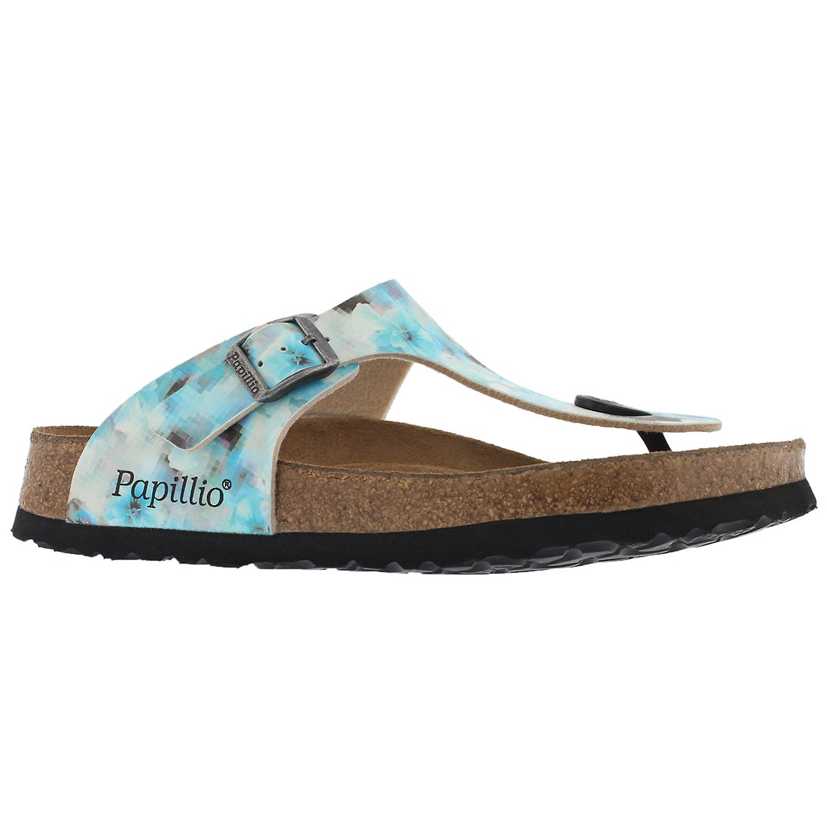 Women's GIZEH pixel blue BF thongs