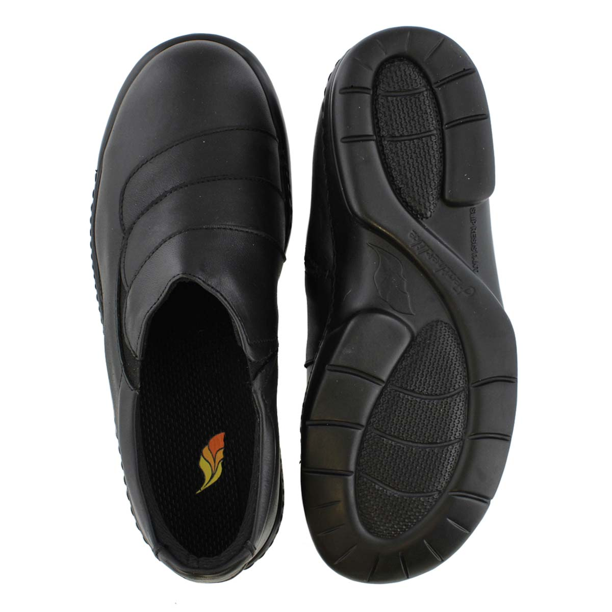 Lds Britney black CSA slip on shoe