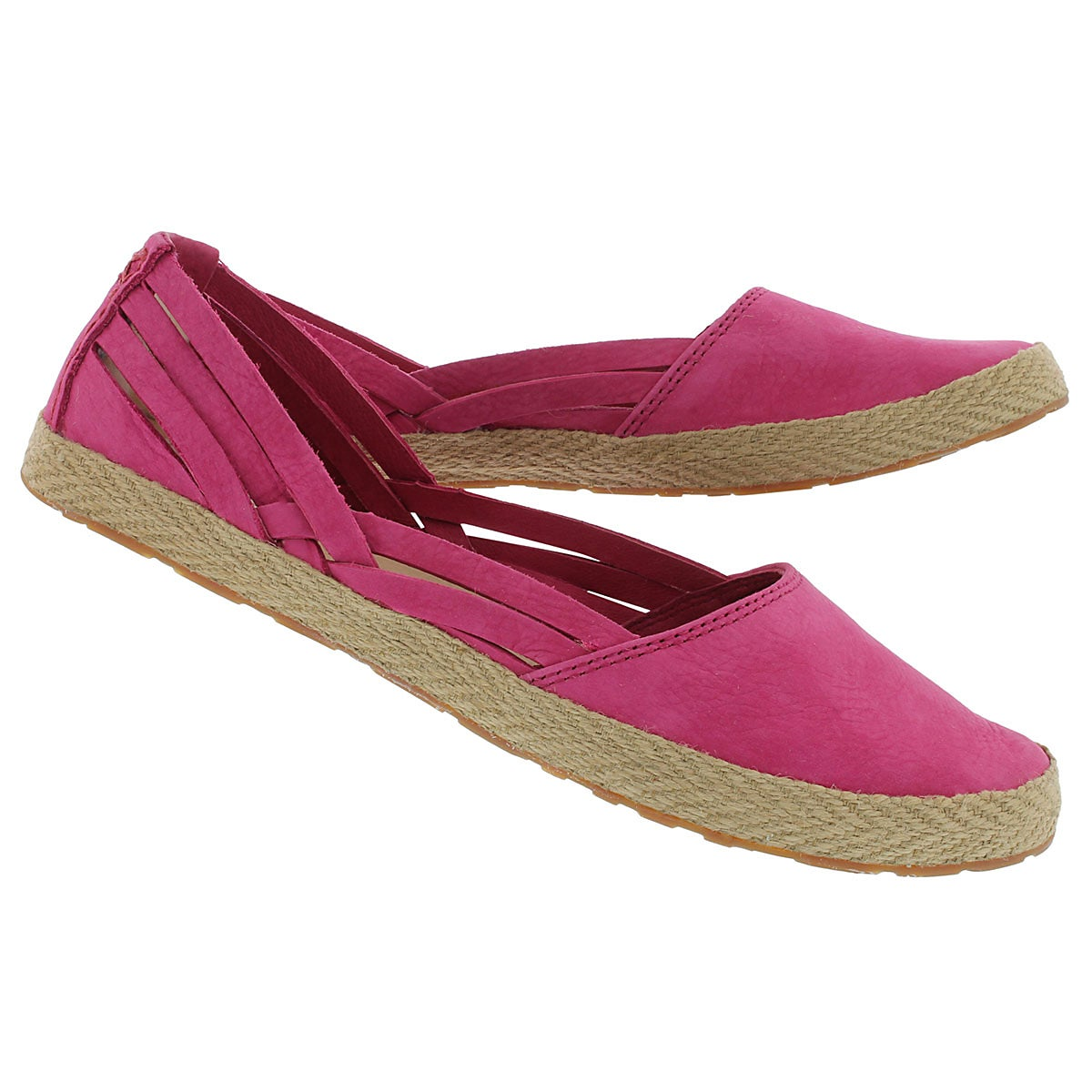 Lds Cicily tropical sunset slip on flat