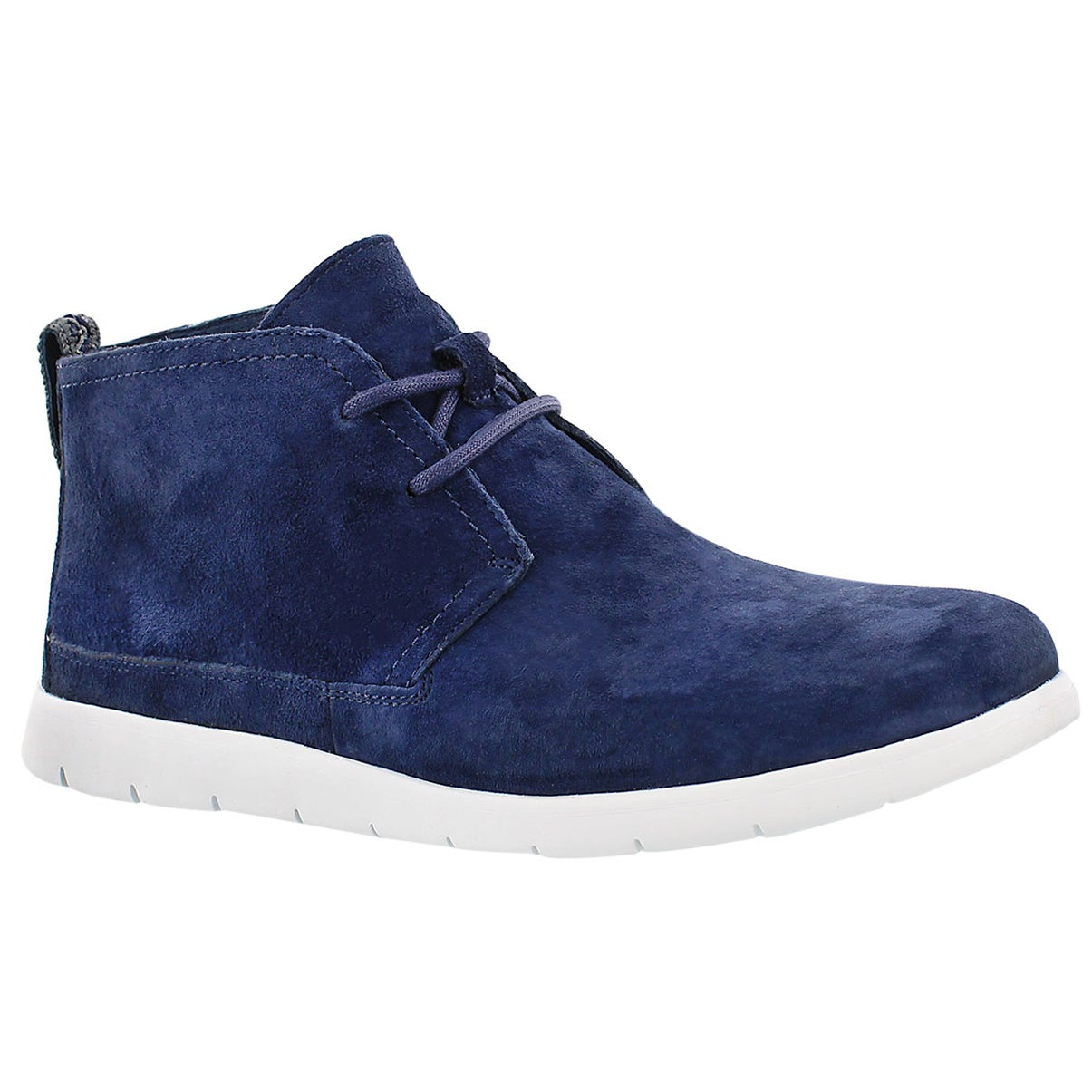 Men's FREAMON navy casual chukka boots