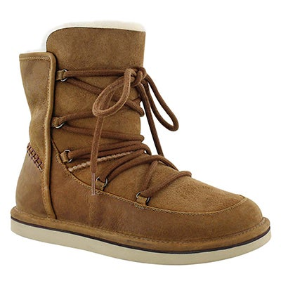 UGG Australia Women's LODGE chestnut lace up casual boots