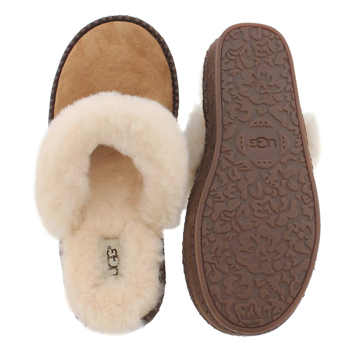 Lds Aira chestnut slipper
