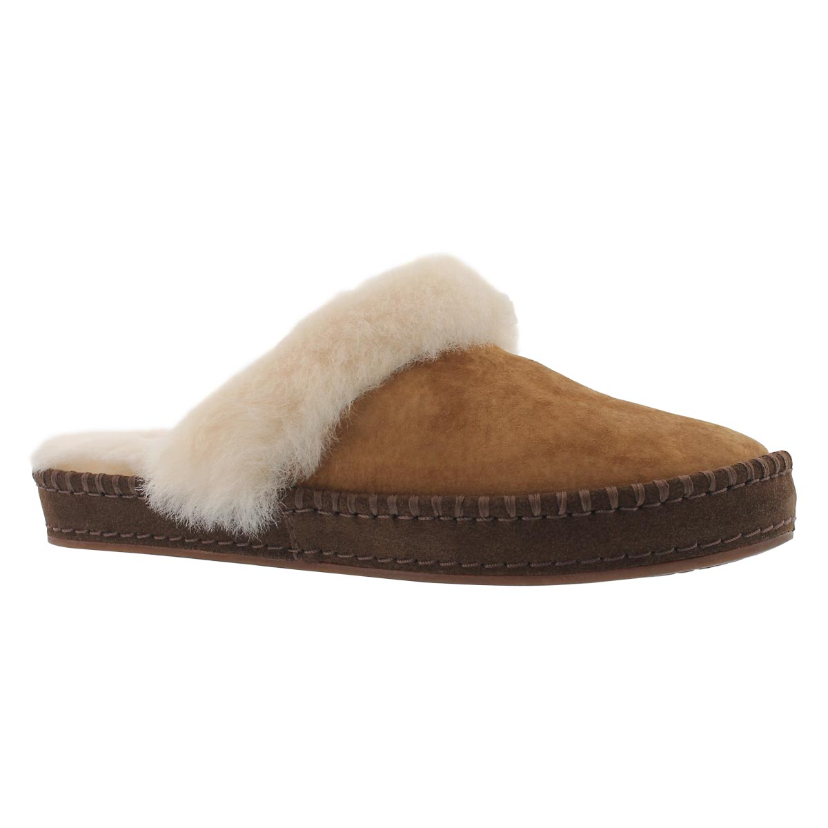 Women's AIRA chestnut slippers