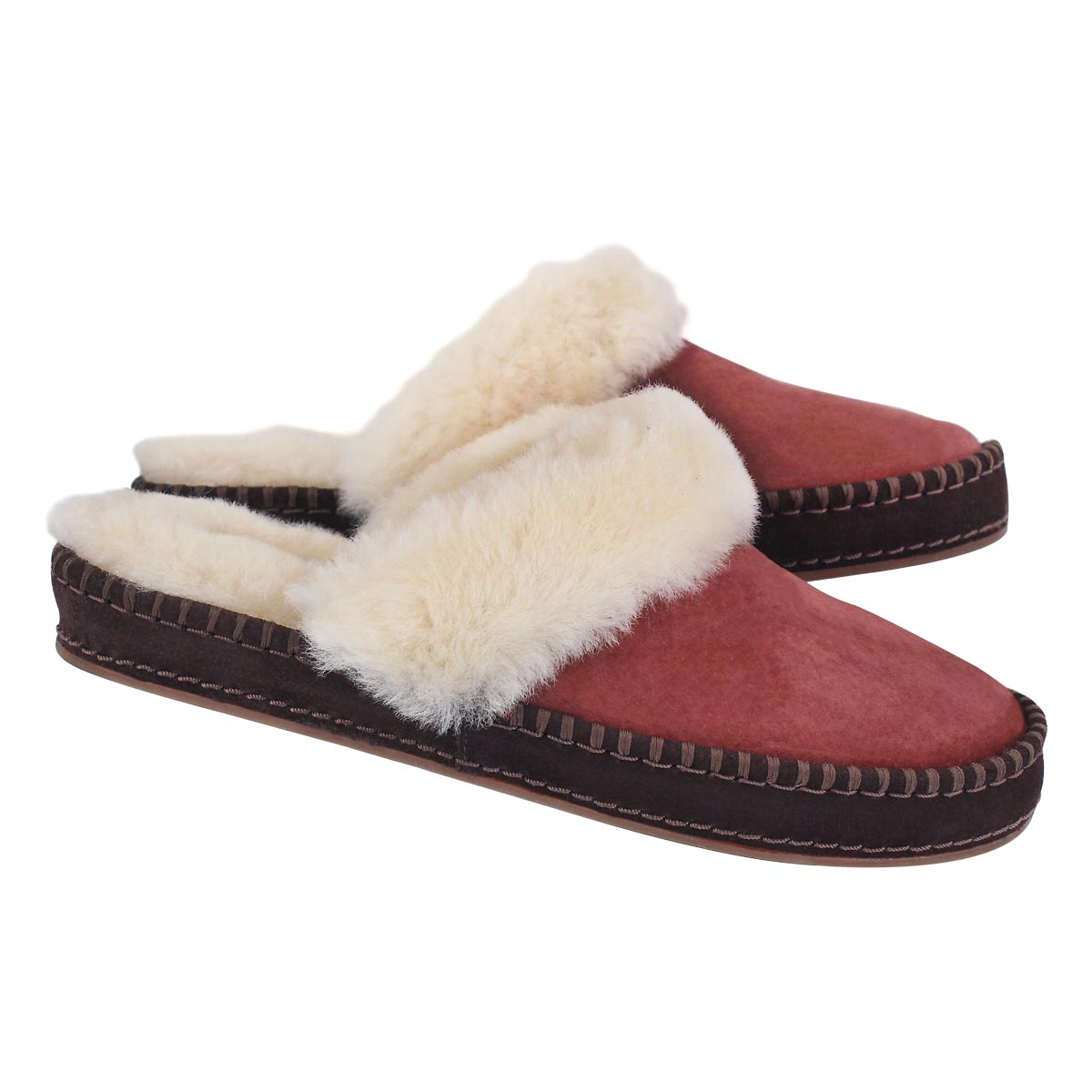 Lds Aira red clay slipper