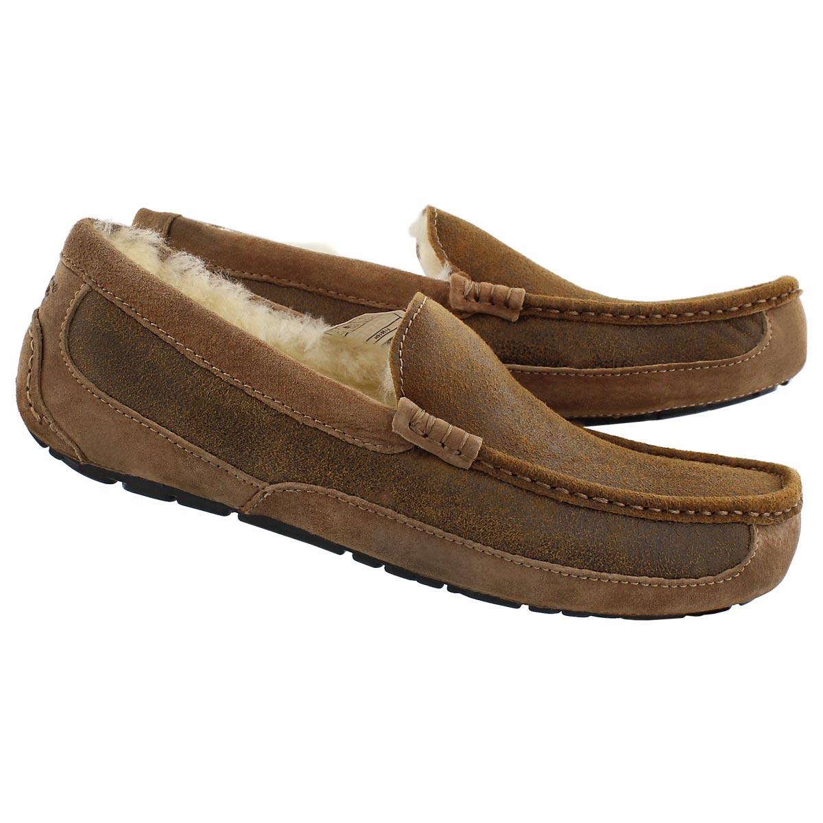 Mns Ascot Bomber ches sheepskin slipper